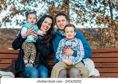 Italian family enjoying a day at the park -- taken at San Rafael Park in Reno, Nevada, USA