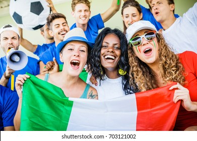 Italian Female Supporters, Soccer Championship