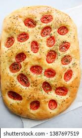 Italian Focaccia – wheat cake
