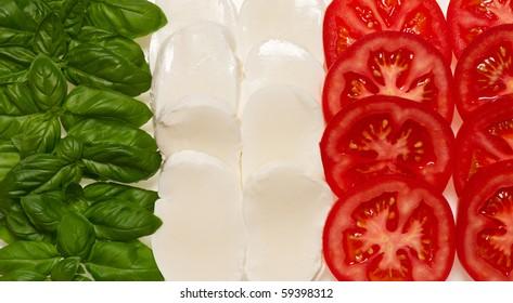 Italian Food Flag