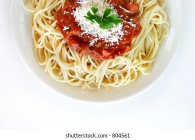 Italian food - Spaghetti Napoletani