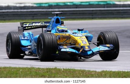 Italian Formula One driver Giancarlo Fisichella of Mild Seven Renault Team, 2006
