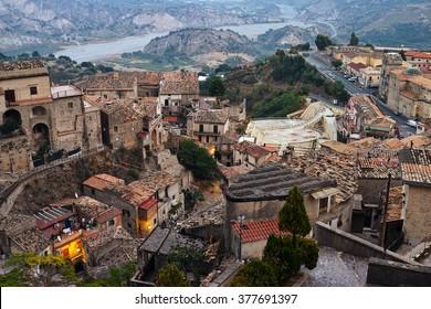 Italian historical city Stilo