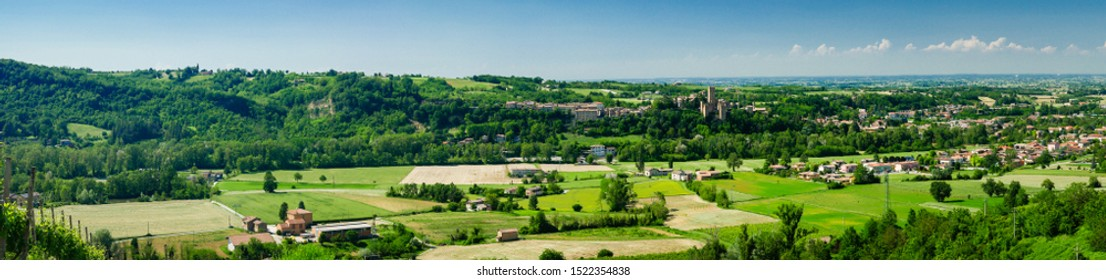 Italian landscape in the Emilia-Romagna region, Italy