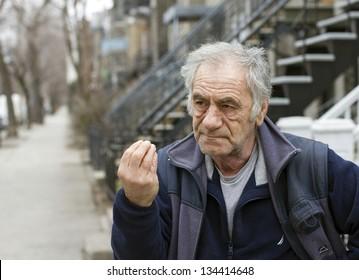 italian man on the street