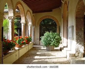 Italian Monastery, now a luxury hotel