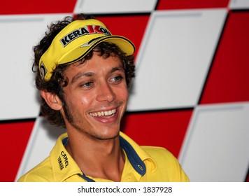 Italian MotoGP rider Valentino Rossi