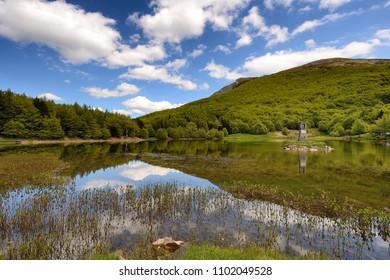 Italian mountain lake