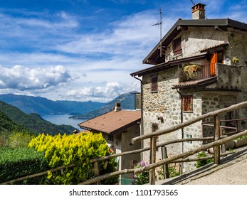 Italian mountain village of Noceno