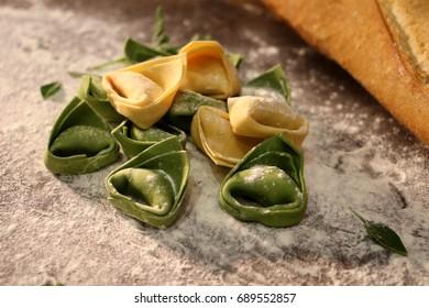 Italian restaurant food rustic pasta