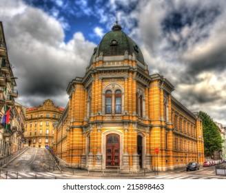 Italian school in Rijeka - Croatia - Shutterstock ID 215898463