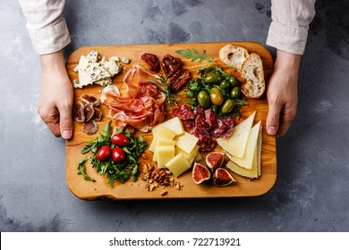 Image result for Italian cheeses, cured meats, olives and sun-dried tomatoes.