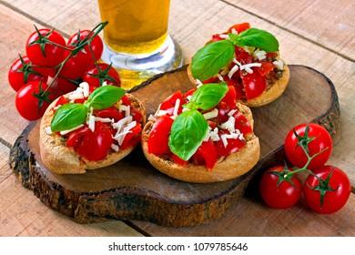 Italian starter friselle - puglia