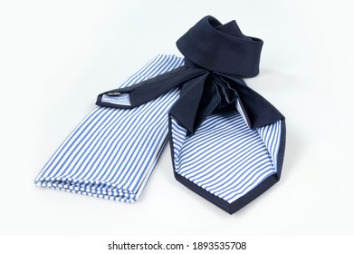Italian tie for airline staff uniform