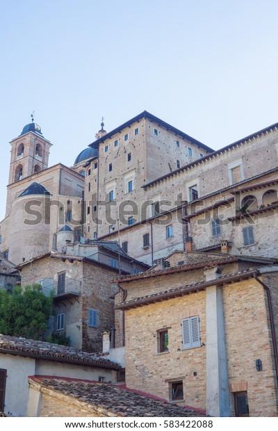The Italian town of Urbino