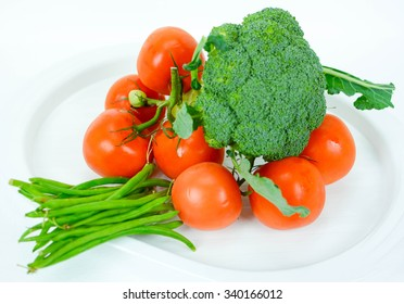 italian vegetables freshly picked for health cooking