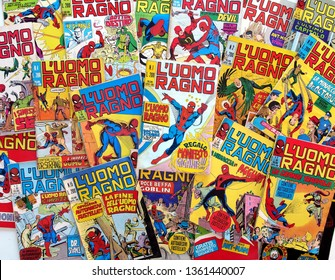 Italy - 1970-71: first edition of Marvel comic books, The Amazing Spider-Man, L'Uomo Ragno, no. 1 to 30