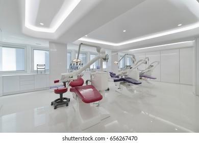 Italy; 22 April 2017, dental surgery room