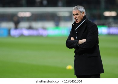 "Milan  Italy, 22 November 2008, ""G.MEAZZA SAN SIRO "" Stadium,Campionato di Calcio Seria A 2008/2009,  FC Inter - FC Juventus: The Juventus coach Claudio Ranieri before the match"