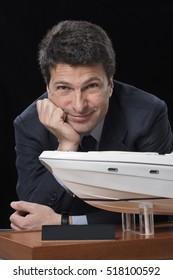 Italy; 24 May 2007, luxury yachts builder studio portrait - EDITORIAL