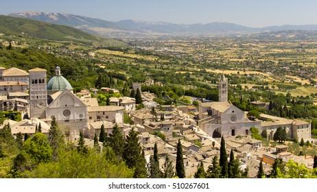 Italy Assisi and Cortona region