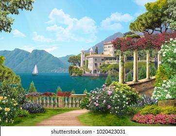 Italy, beautiful coast