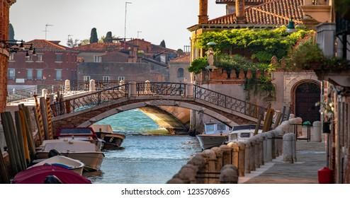 Italy beauty, view from Dorsoduro to Giudecca in Venice, Venezia