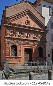 Italy, Bologna, Oratory of the Holy Spirit