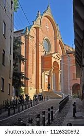Italy, Bologna San Giovanni in Monte Roman Catholic church.