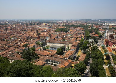 ITALY, BRESCIA: panoramic view of the city of Brescia from the Castle of Brescia