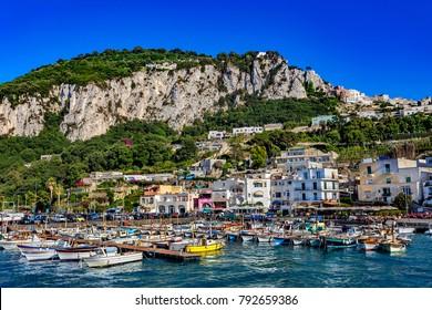 Italy. Capri Island. Capri Town - Marina Grande