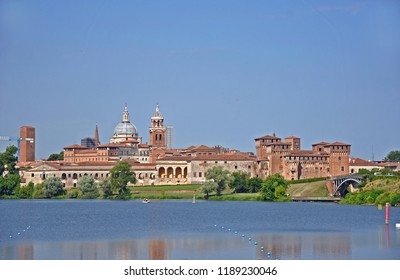 Italy, city of Mantua panorama