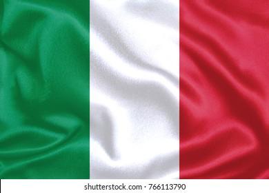 italy Fabric Flag