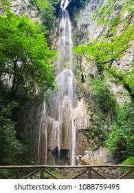 italy ferriere waterfall