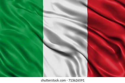 Italy Flag Drapery