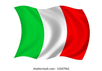 Italy Flag (more flags in my portfolio)