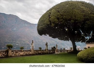 Italy, lake Como,Villa del Balbianello