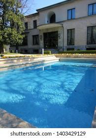 Italy, Lombardy, Milan / 2016 March 16th / Modernist urban villa in Milan , Villa Necchi Campiglio