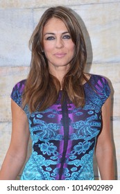 Italy - Milan  January 31,2018 - Liz Hurley actress posed