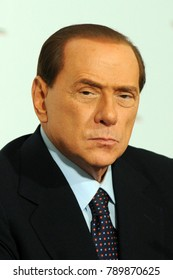 Italy - Milan january 9,2018 - Silvio Berlusconi italian politic posed