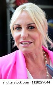 Italy - Milan july 6,2018 - Antonella Clerici italian television star posed