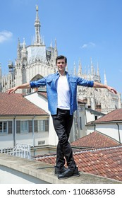 Italy - Milan june 6,2018 - Roberto Bolle Italian dancer of Scala Teather posed in Milan