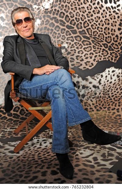 Italy Milan November 202017 Roberto Cavalli Celebrities Stock Image 765232804