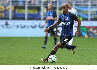 Italy, Milan, september 2017: Joao Mario during the football match between FC INTER vs SPAL, 3day Italy League Serie A Tim, San Siro stadium Milan september 10 2017