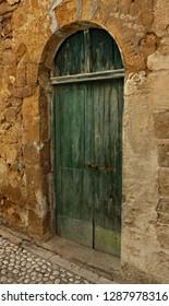 Italy: Old door in Sambuca of Sicily.