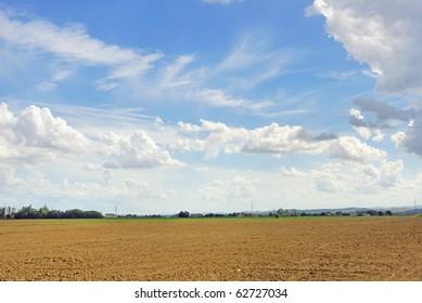 Italy Padana plain near Ravenna