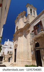 Italy - Polignano a Mare. Chiesa del Purgatorio (Church of the Purgatory).