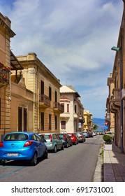Italy, Reggio di Calabria, 28 may 2013: Streets and architecture  in Calabria