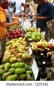 Italy romagna Reggio Emilia Guastalla foodstuffs market