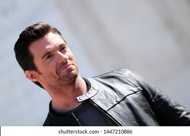 Italy Rome 14/04/2009 Photocall held at Piazza di Spagna Hugh Jackman attends the 'X-Men Origins: Wolverine'
